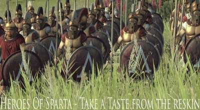 Total War: Rome 2 — Новая Спарта / Sparta Remake | Total War: Rome 2 моды
