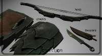 Skyrim — Сет оружия орков | Skyrim моды
