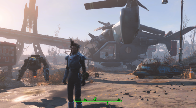 Fallout 4 — Персональный винтокрыл | Fallout 4 моды