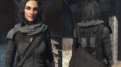 Fallout 4 — Костюм Агента (+CBBE) | Fallout 4 моды