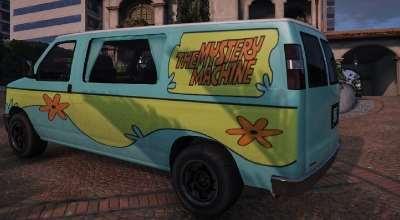 GTA 5 — Машина из Скуби-Ду (Scooby Doo's Mystery Van) | GTA 5 моды