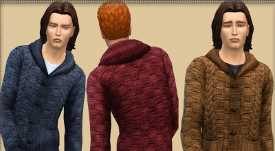 Sims 4 — Мужской жакет (Jacket with Braids) | The Sims 4 моды