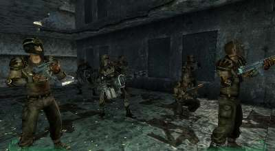 Fallout 3 — Gangs Of The Wasteland   Fallout 3 моды