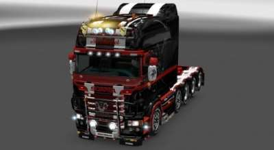 ETS 2 — Новый тюнинг RJL's Scania T & Scania R Accessories ReMoled | ETS2 моды