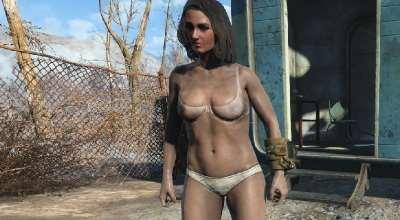Fallout 4 — Прозрачный бюстгальтер | Fallout 4 моды