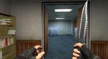 Counter Strike:Source — Rambo Knife | Counter Strike:Source моды