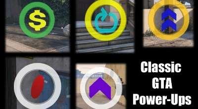 GTA 5 — Классические бафы (Classic GTA Power-Ups) | GTA 5 моды