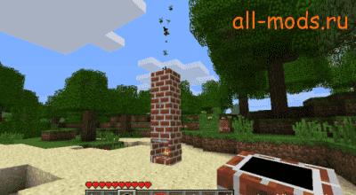 Minecraft —  Fireplace / Камины | Minecraft моды