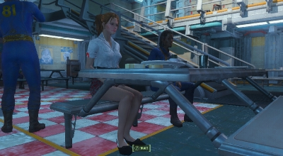 Fallout 4 — Форма школьницы (для CBBE) | Fallout 4 моды