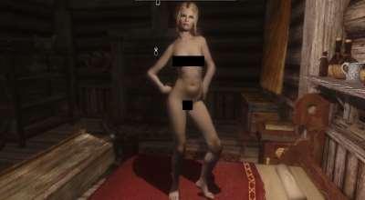 Skyrim — Женское тело UNP-HDT и Мужское тело с текстурами +18