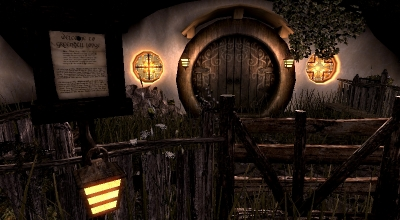 Skyrim — Хижина на зелёном холме | Skyrim моды