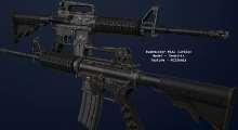 Fallout NV — Bushmaster M4A1 Carabine | Fallout New Vegas моды