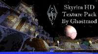 Minecraft 1.7.x — HD текстуры Ghostmod's Skyrim | Minecraft моды