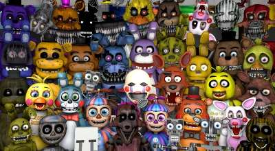 Garrys mod — FNaF 1-4 Npc And Playermodels Pack | Garrys mod моды