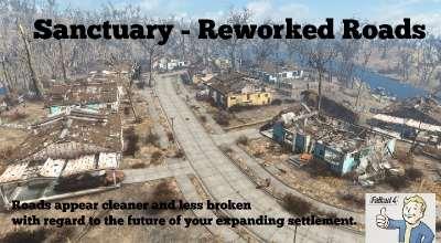 Fallout 4 — Ремонт дорог в поселениях | Fallout 4 моды