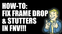 Fallout NV — Stutter Remover | Fallout New Vegas моды