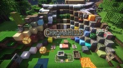 Minecraft 1.14.x — Текстуры ChromaHills(x128) | Minecraft моды