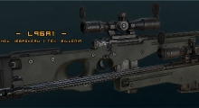 Fallout NV — Снайперская винтовка L96A1   Fallout New Vegas моды