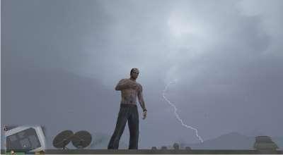 GTA 5 — Проект «Библейский шторм» (Biblical Storm Project 2.0)   GTA 5 моды