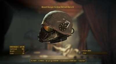 Fallout 4 — Боевой шлем «Марк II» | Fallout 4 моды