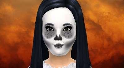Sims 4 — Детская маска на Хэллоуин | The Sims 4 моды