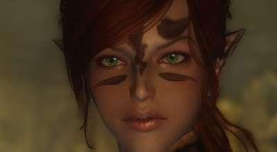 Skyrim — Ретекстур губ у девушек людей и эльфов   Skyrim моды