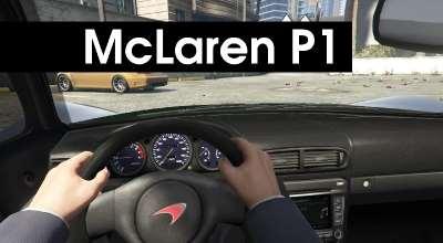 GTA 5 — McLaren P1 | GTA 5 моды