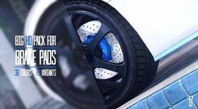 GTA 5 — Большой пак новых колесных дисков | GTA 5 моды