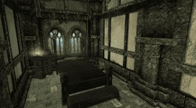 Skyrim — Комната в коллегии бардов | Skyrim моды
