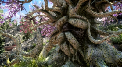 Skyrim — Дерево Деку | Skyrim моды