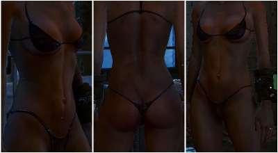 Fallout 4 — Улучшенные текстуры лица и тела для Женщин (Valkyr Female Face and Body Textures) | Fallout 4 моды