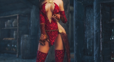 Skyrim — Расширенная броня Ведьмы (CBBE) | Skyrim моды