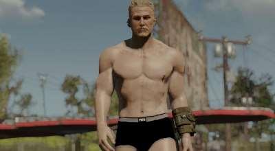Fallout 4 — реалистичные текстуры тел для мужчин | Fallout 4 моды