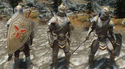 Skyrim — Броня и оружие Паладина | Skyrim моды