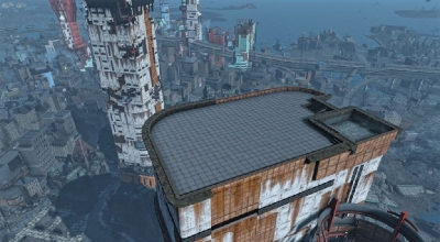 Fallout 4 — Пентхауз в Бэк-бэй | Fallout 4 моды