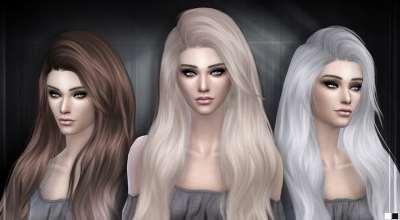 Sims 4 — Роскошная длинная прическа Stealthic — Heaventide | The Sims 4 моды