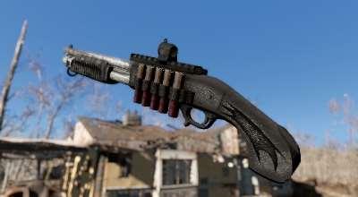Fallout 4 — Benelli M3 Super 90 | Fallout 4 моды