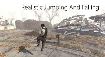 Fallout 4 — Реалистичные прыжки и падения | Fallout 4 моды