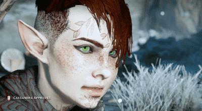 DA: Inquisition — Реплейсер татуировок Эльфов | Dragon Age моды