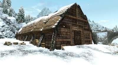 Skyrim — Дом Викингов | Skyrim моды