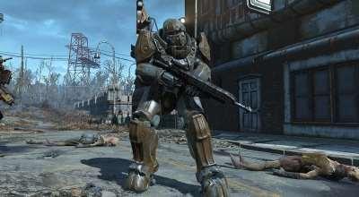 Fallout 4 — Силовая боевая броня   Fallout 4 моды