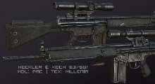 Fallout NV — HK G3SG1 | Fallout New Vegas моды