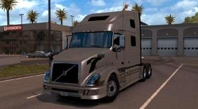 ATS — Тягач Volvo VNL 780 | American Truck Simulator моды
