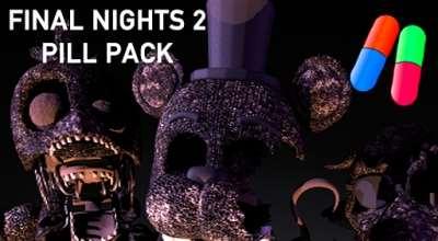 Garrys Mod — Final Nights 2 Pill Pack | Garrys mod моды