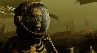 Fallout 4 — Жутко страшные скелеты | Fallout 4 моды