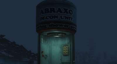 Fallout 4 — Обеззараживающая кабина | Fallout 4 моды