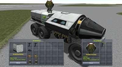 Kerbal Space Program — Kerbal Inventory System (KIS) / KIS | Разное моды