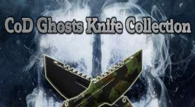 Garrys mod — CoD Ghosts Knife Collection Final