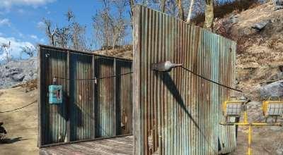 Fallout 4 — Проводим электричество сквозь стены | Fallout 4 моды
