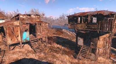 Fallout 4 — Лачуги и Башни | Fallout 4 моды